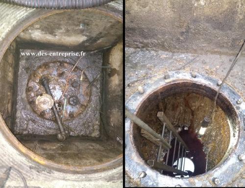 Neutralisation d'une cuve à fioul enterrée à Lure (70)